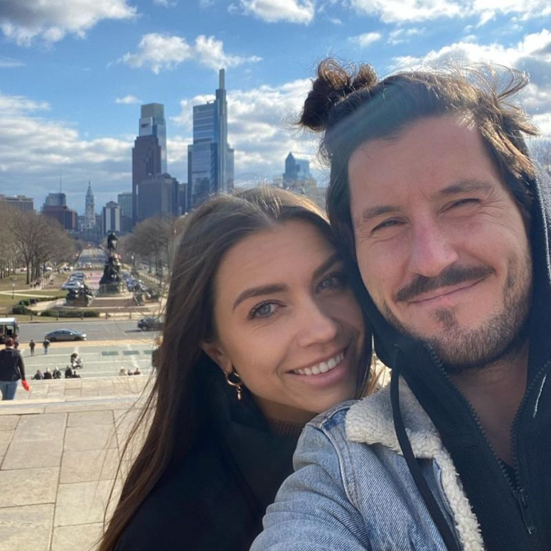 Val Chmerkovskiy and wife Jenna