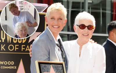 Ellen DeGeneres Mom Betty Gets Nervous When the Comedian Gives Her a Haircut for Her 90th Birthday 1