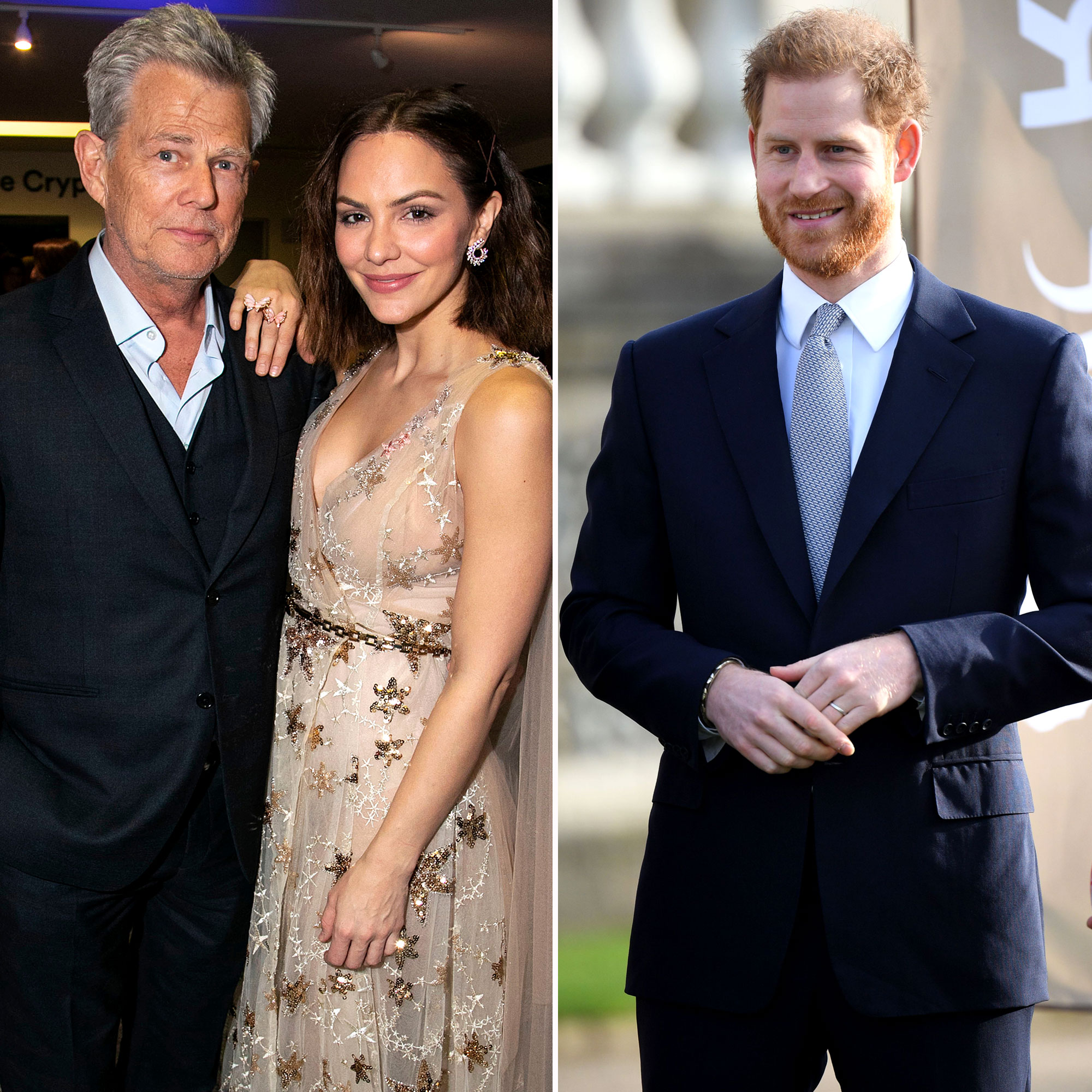Katharine Mcphee Gushes Over David Foster And Prince Harry S Bond