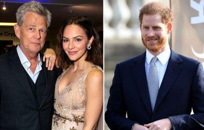 Katharine McPhee Says Husband David Foster Has Beautiful Bond With Prince Harry