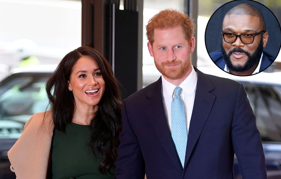 Prince Harry and Meghan Markle Staying at Tyler Perrys Luxurious LA Mansion