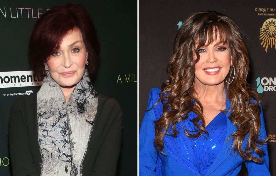 Sharon Osbourne and Marie Osmond Recall Being Fat-Shamed at a Young Age