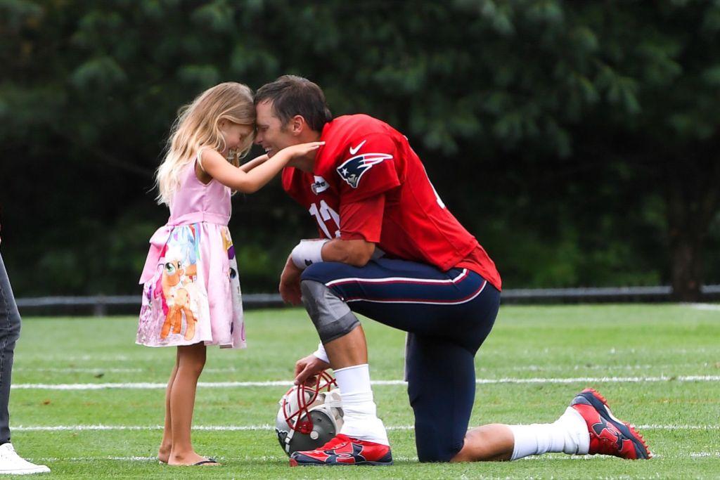 Tom Brady and Daughter Vivian