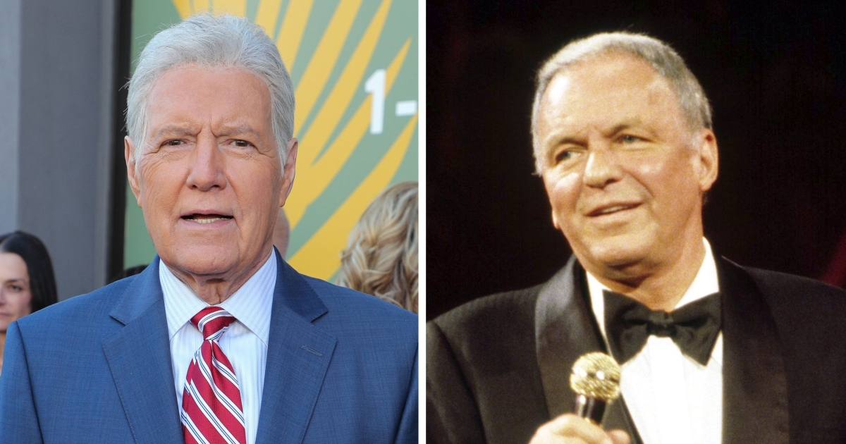 Alex Trebek Recalls Learning 'Hero' Frank Sinatra Was a 'Jeopardy!' Fan