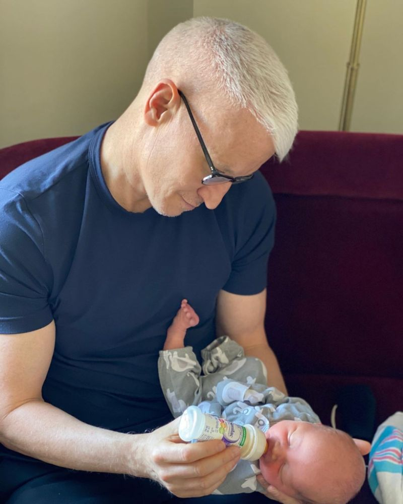 Anderson Cooper and son Wyatt