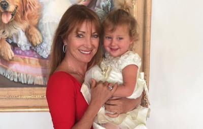 Jane Seymour and granddaughter