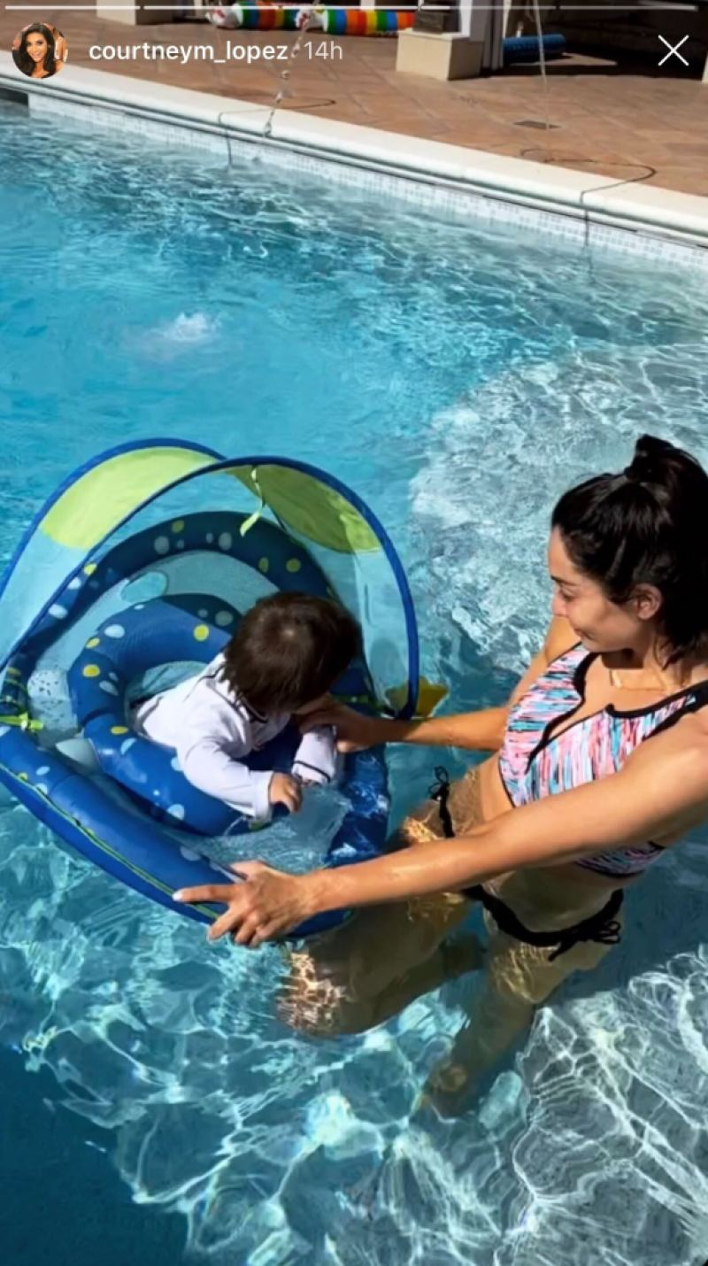 mario-lopez-and-wife-courtney-enjoy-pool-time-with-their-3-kids