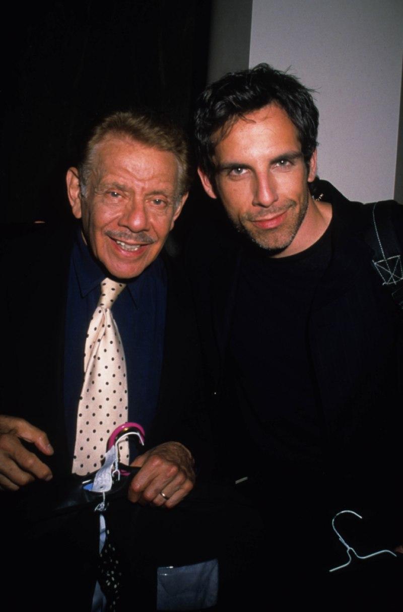 Jerry Stiller and Ben Stiller 1998
