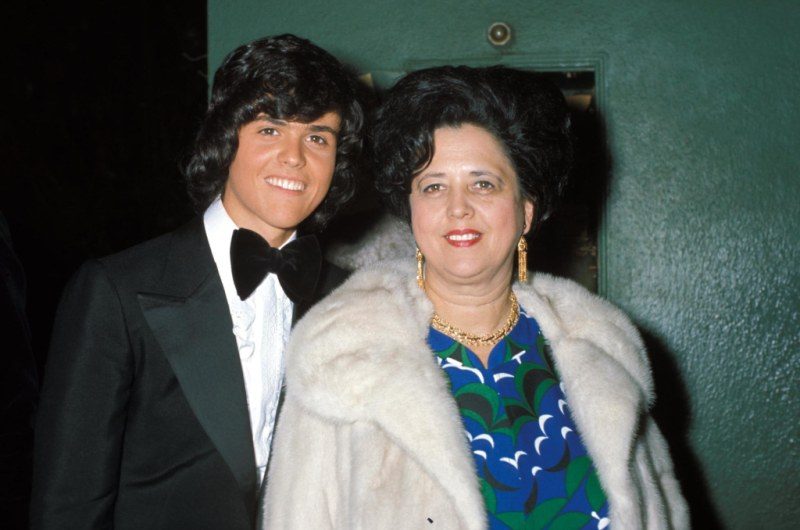 Donny Osmond and mother Olive Osmond