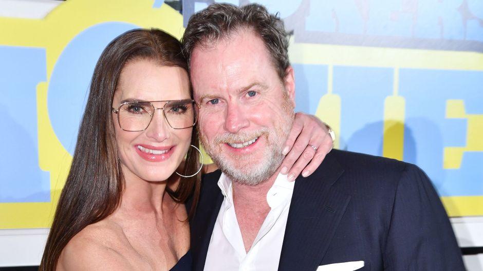 Brooke Shields and husband