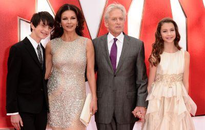 Catherine Zeta-Jones family