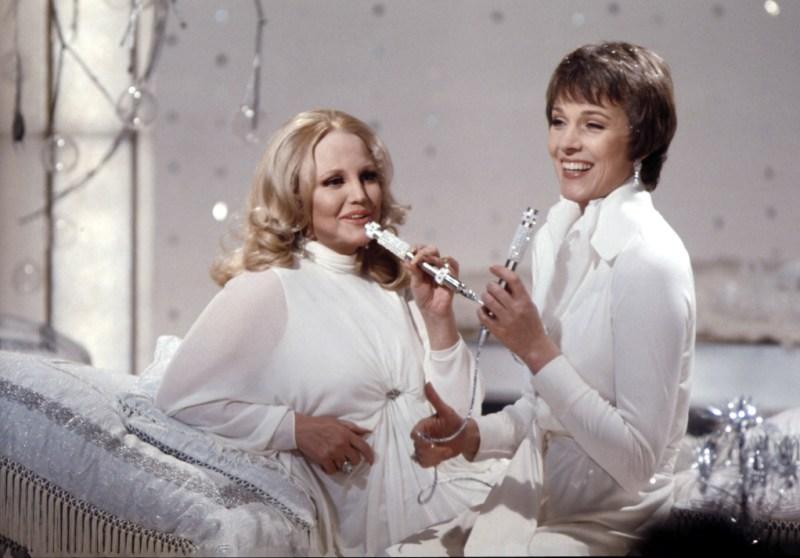 Peggy Lee and Julie Andrews