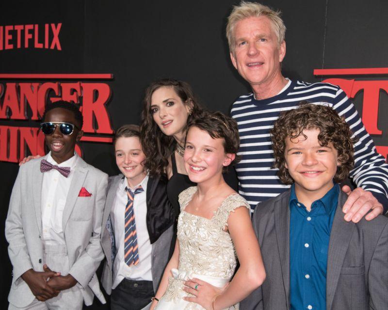 'Stranger Things' Netflix TV series premiere, Los Angeles, USA - 11 Jul 2016