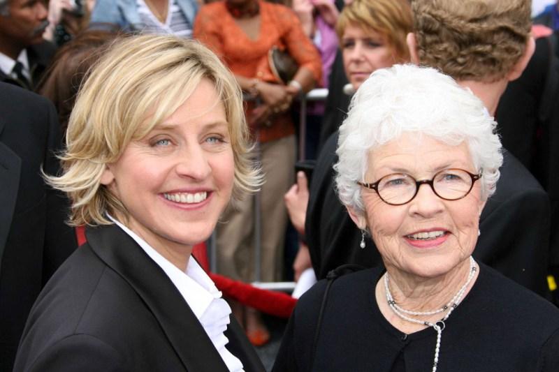 Ellen DeGeneres and mom Betty