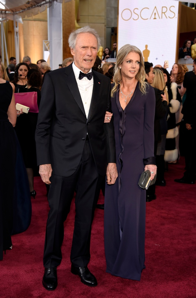 Clint Eastwood Christina Sandera