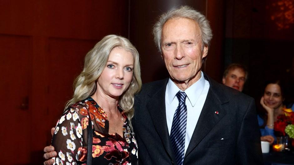 Clint Eastwood and Christina Sandera