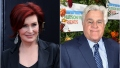 Sharon Osbourne and Jay Leno