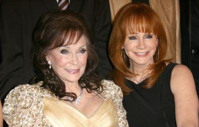 Loretta Lynn and Reba McEntire
