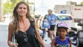 Heidi Klum With Daughter Lou And Boyfriend Tom Kaulitz Spotted in TriBeCa