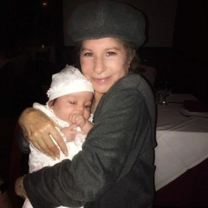 Barbra Streisand and granddaughter Westlyn