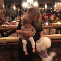 Barbra Streisand and her granddaughter