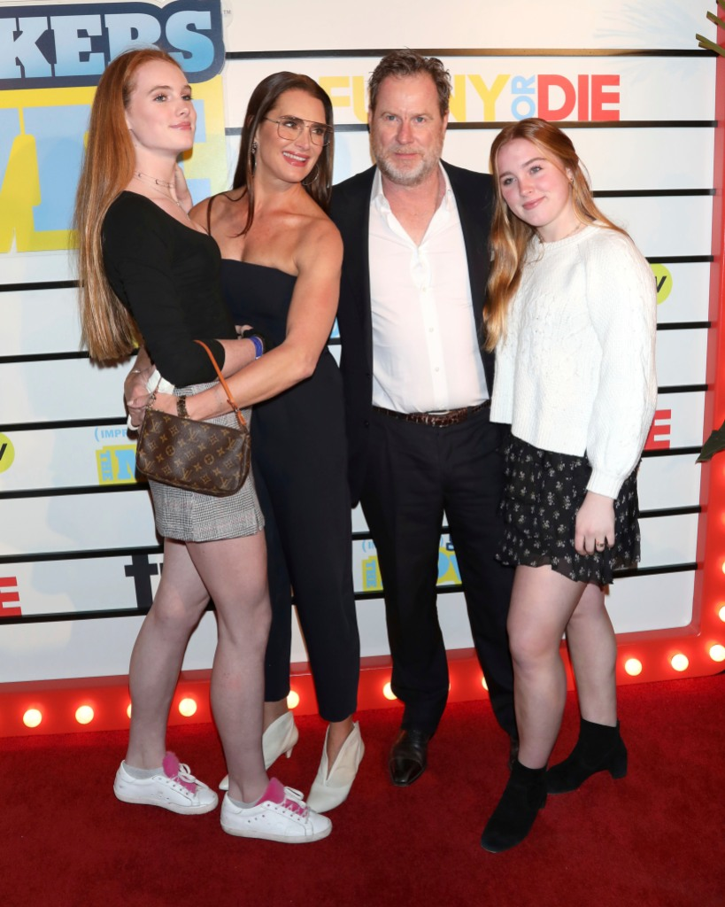 brooke-shields-on-quarantine-with-husband-chris-henchy-and-daughters