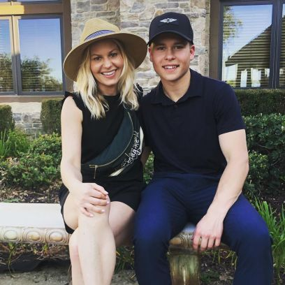 Candace Cameron Bure and son Lev