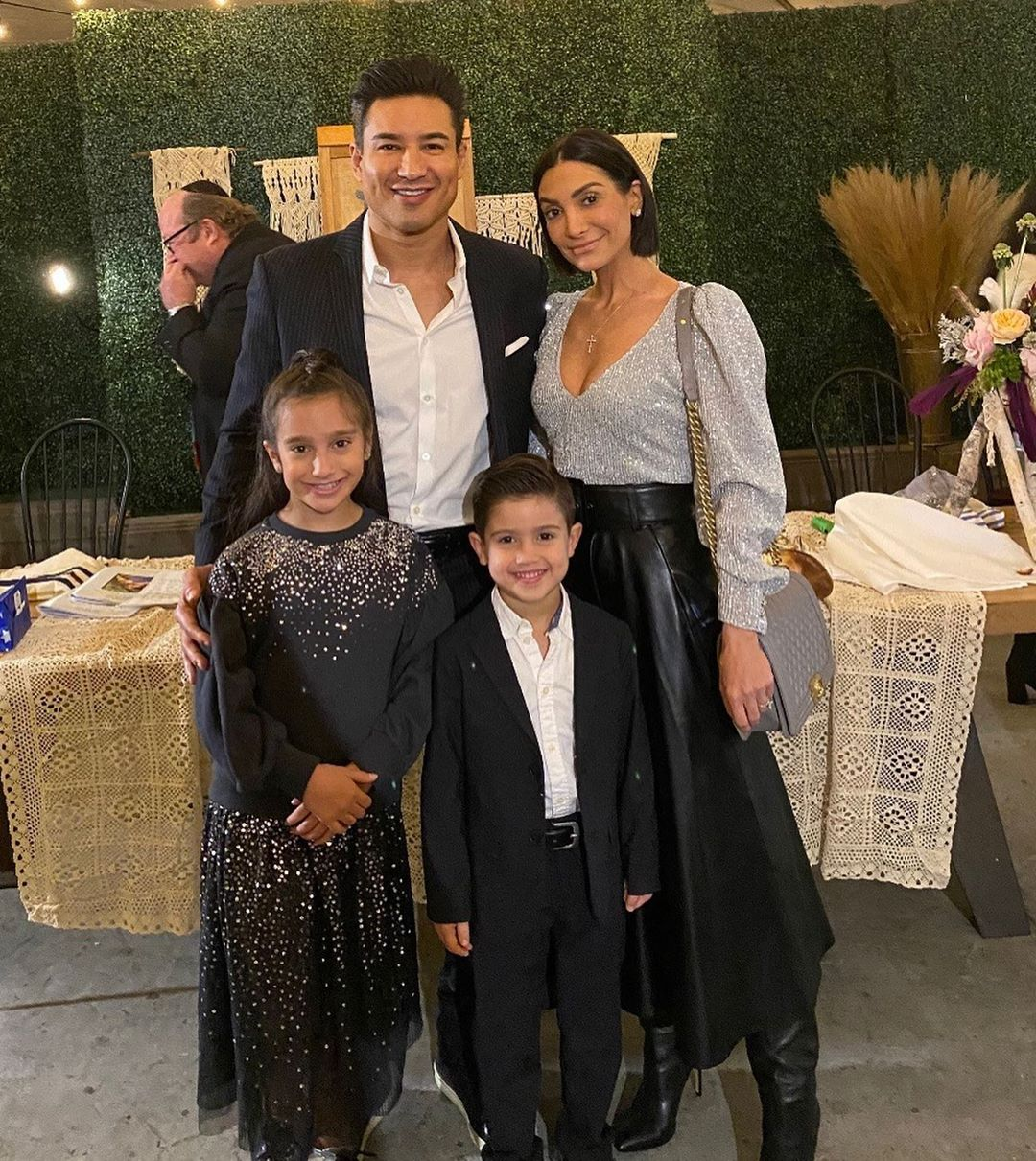 Mario Lopez And Wife Courtney Mazza Dance With Kids In Cute Video