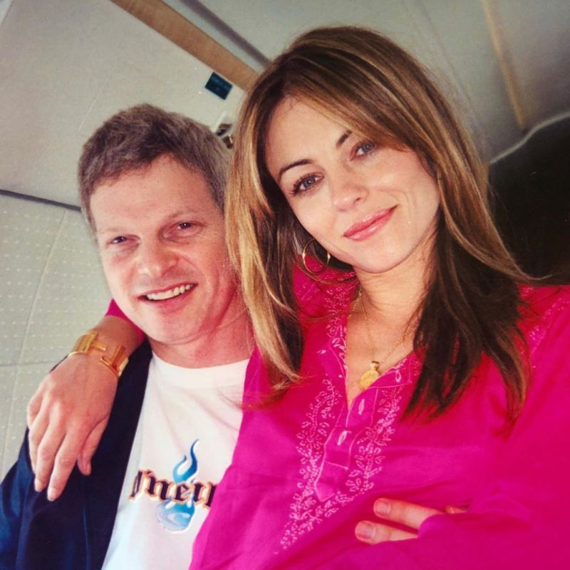 Elizabeth Hurley and Steve Bing