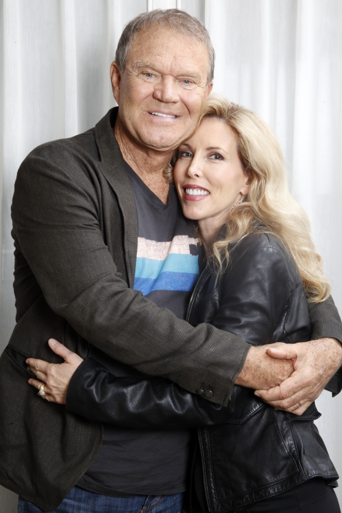 glen campbell and wife kim 2011