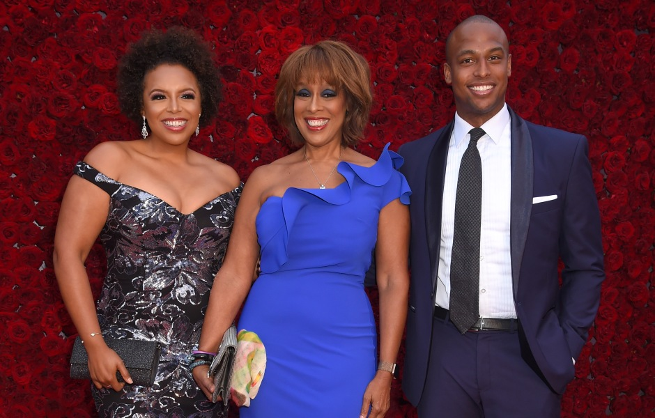 Gayle King and Kids