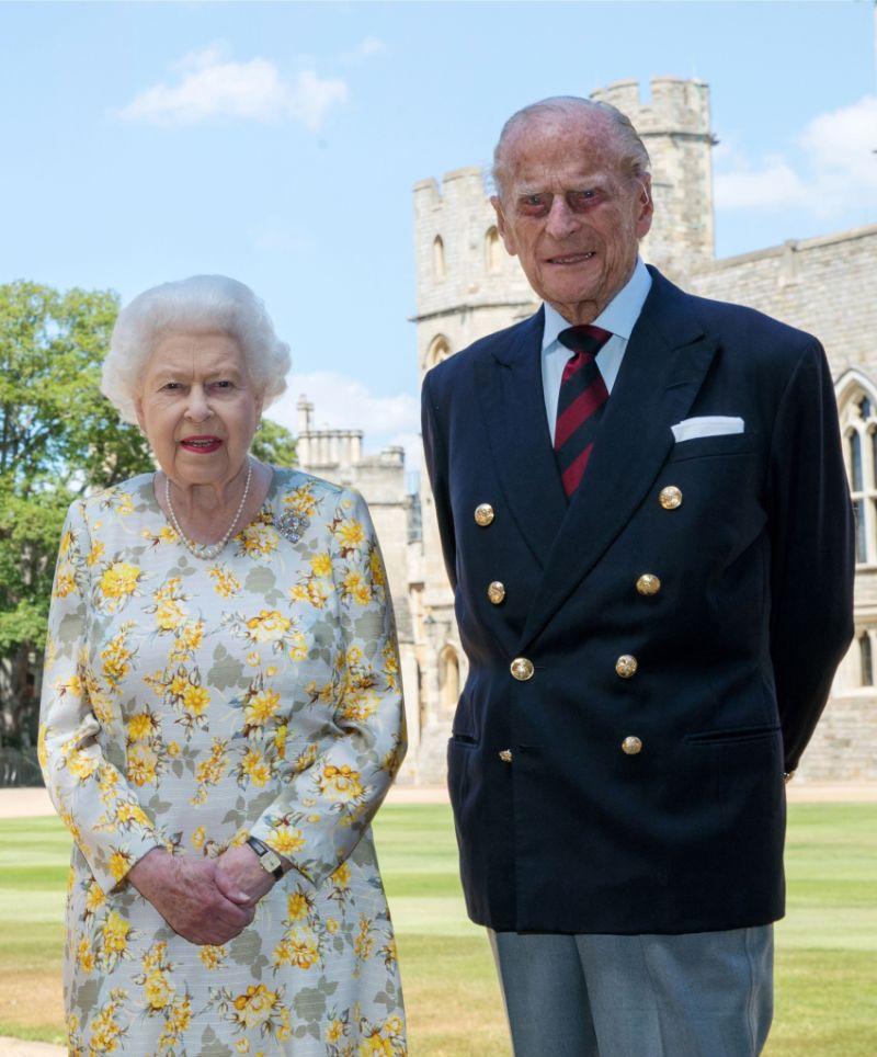 Queen Elizabeth II and Prince Philip, Windsor Castle, Berkshire, UK - 09 Jun 2020