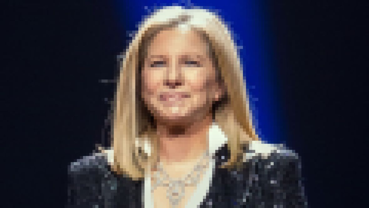 Barbra Streisand in concert at the MGM Grand in Las Vegas, America - 02 Nov 2012