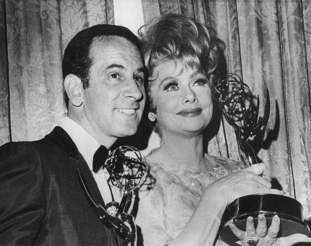 don-adams-lucille-ball-emmy-awards