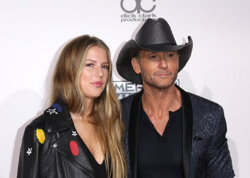 Tim McGraw and Maggie McGraw