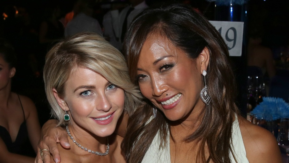 Julianne House and Carrie Ann Inaba