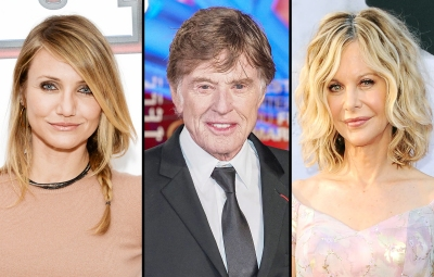 Cameron Diaz Robert Redford and Meg Ryan 10 Celebrities Who Quit Hollywood
