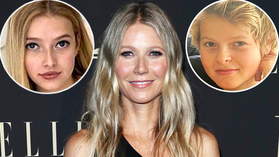 Gwyneth Paltrow 2 Kids Are the Reason for Her Smile Apple Moses