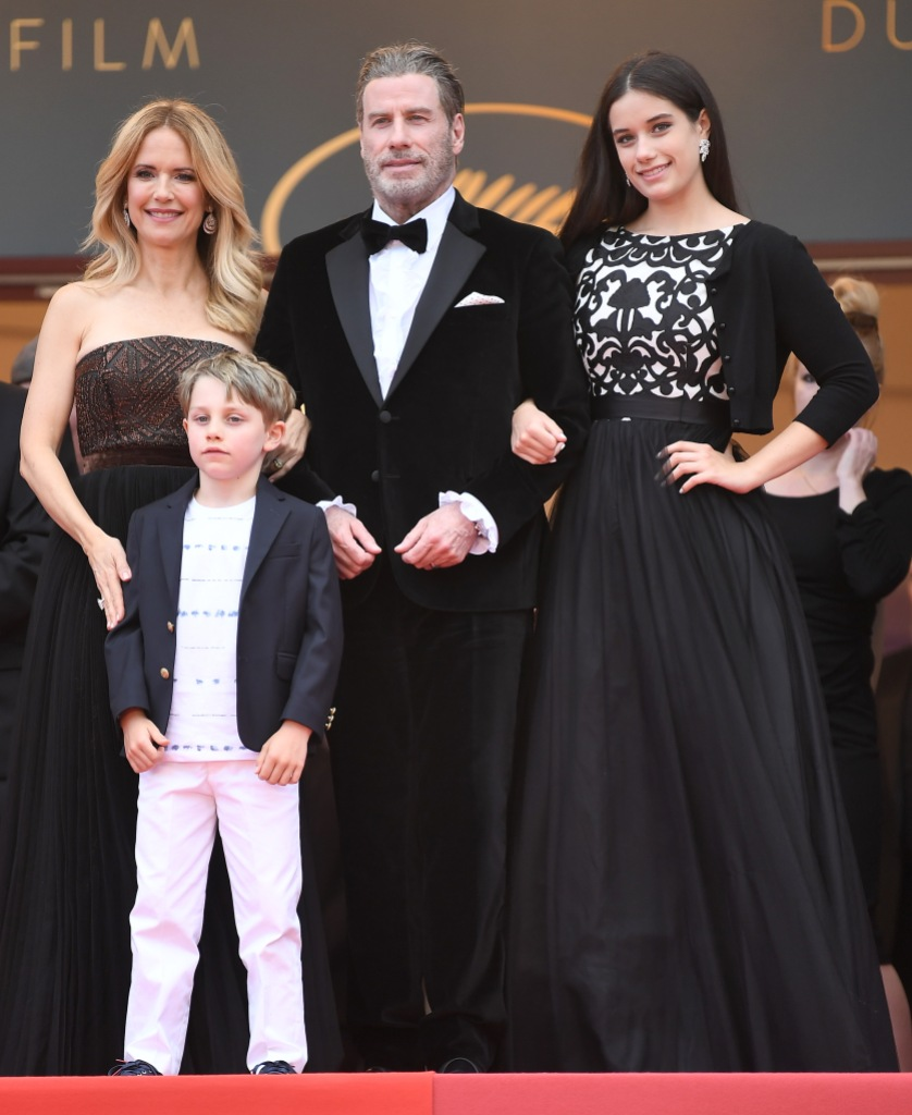 John Travolta Kelly Preston Kids