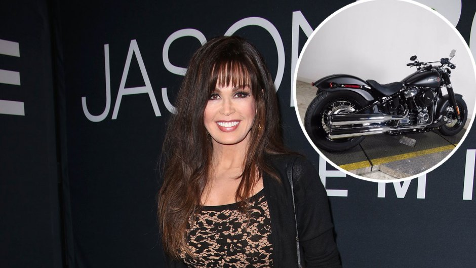 Marie Osmond Buys a New Motorcycle