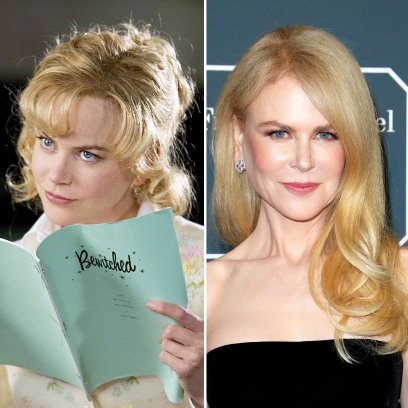 Nicole Kidman Bewitched Then and Now