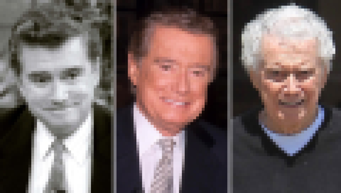 Regis Philbin Through Years