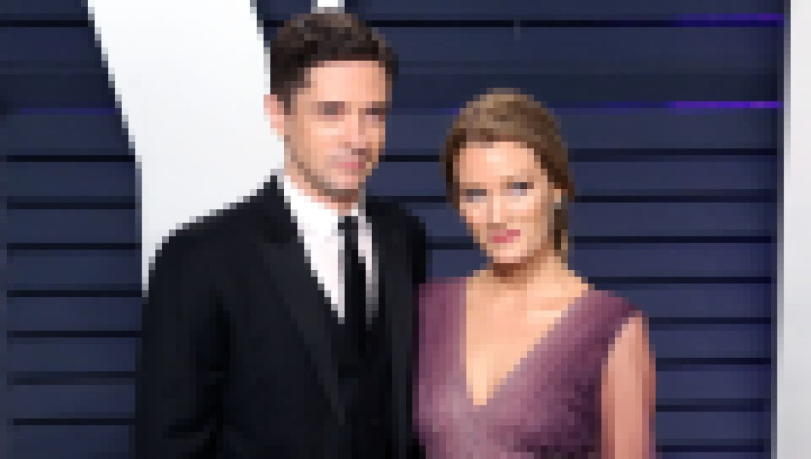 Topher Grace and Ashley Hinshaw Welcome Baby