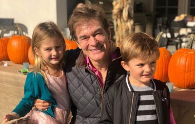 Dr. Oz and his grandkids