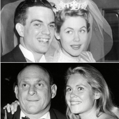 bewitched-star-elizabeth-montgomery-from-bewitched-and-her-four-husbands-clockwise-from-top-left-frederick-cammann-gig-young-robert-foxworth-william-asher