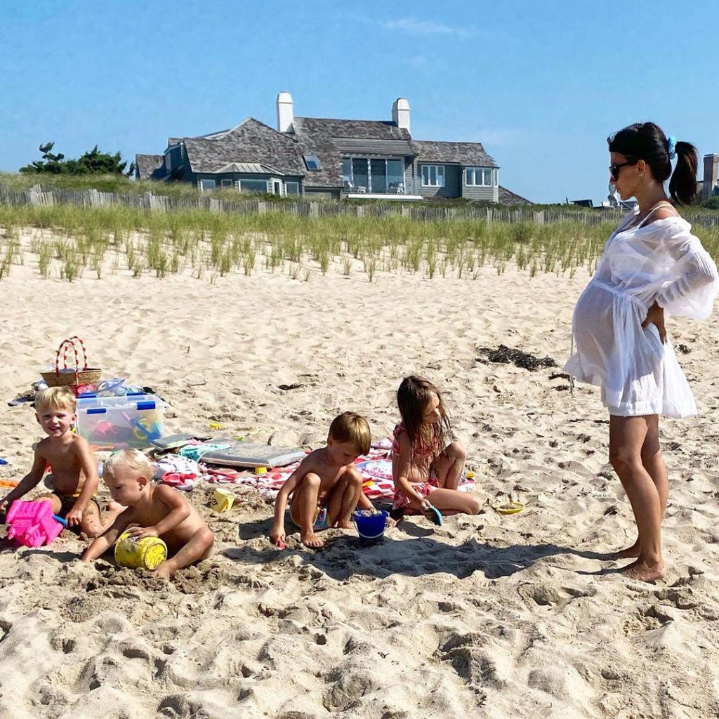 Hilaria Baldwin and kids