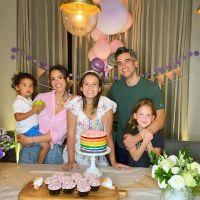 Jessica Alba and family