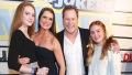 Brooke Shields and family