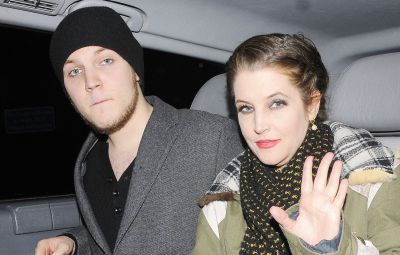 Lisa Marie Presley and Benjamin Presley Keough at Mr Chow restaurant, London, Britain - 09 Jan 2012