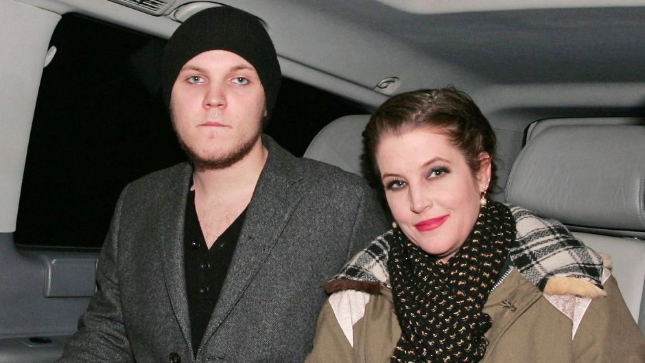 Lisa Marie Presley and Benjamin Presley Keough at Mr Chow restaurant, London, Britain - 09 Jan 2012